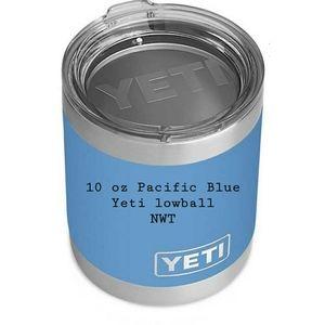 Pacific Blue 10 oz. Yeti lowball NWT